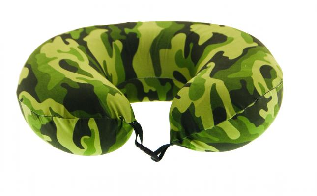 Rahatsan Soldier Camouflage Memory Foam Travel Pillow
